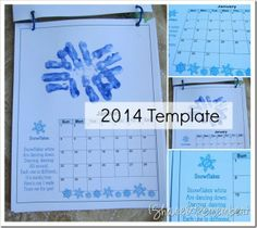 Free 2014 {yes that's right - 2014} Calendar for free with space at top for handprint of your child along with poem The Hands of A Child by Amy Ethridge...Download by google or scribd