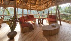 Amazing Bamboo Houses in Bali www.megaquicksale.co.uk/pinterest