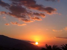 Beautiful Tenerife by Sunset from La Orotava perspective. Real inmobiliarias Gas the property that goes with this stunning View.
