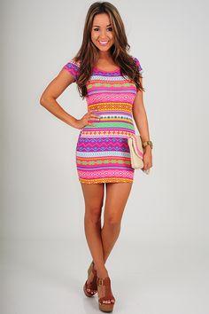 Eye Candy Dress: Multi