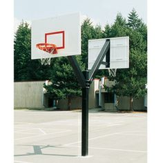 Bison Ultimate Double Sided System. double the play but not the cost. Great for hoops for multiple basketball courts.