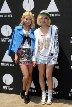Hyoyeon y Sunny de SNSD promocionan una marca de moda en Seúl. : __ Generacion Kpop Radio __