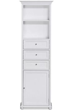 "Hampton Bay 22""W Standard Linen Cabinet - Linen Cabinets - Storage Cabinets - Furniture | HomeDecorators.com"