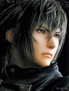 Prince Noctis Lucis Caelum, from Final Fantasy Versus XIII. The prince of the last remaining dynasty that is tasked with protecting the Crystals. -- I do not know what category it is classified. Final Fantasy Xv, Final Fantasy Collection, Final Fantasy Characters, Final Fantasy Artwork, Fantasy Series, Fantasy World, Video Game Characters, Shinshi Doumei Cross, Noctis Lucis Caelum