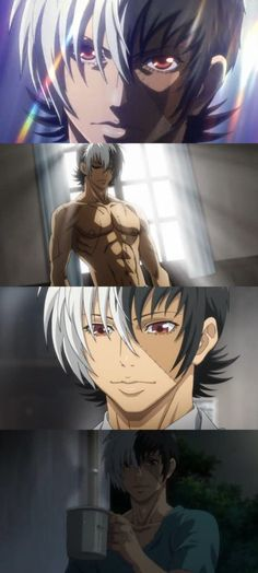 young black jack, the animation of 2015. Basically, a cute shounen that will make you love Kuroo('s abs) I love the animation