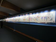 A gorgeous tapestry made by the women of Fishguard to commemorate the bicentennial of their invasion by the French in In the gallery of the Fishguard public library. Welsh Cawl, Wales, Ash, Public, Mountain, England, Tapestry, Inspirational, French