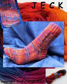 sock pattern jeck