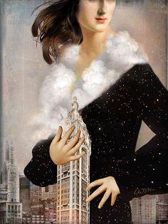 Catrin Welz-Stein › Portfolio › Over Manhattan