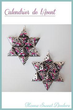 Un Calendrier de l'Avent Etoilé + décorations de Noël