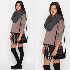 SKIRTS!!! The perfect outfit for this winter!!!#nicoli #nicolimoda #falda #skirt #fashion #moda #addicted #obsessed #awesome #cute #cool #nice #lomasin #streetstyle #totallook #lovely   http://www.nicoli.es/tienda/Look-03-20150203-mca.html