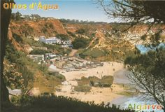 olhos d'agua Algarve, Visit Portugal, Old Photos, Grand Canyon, Nature, Travel, Eyes, Old Pictures, Naturaleza
