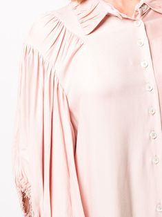 Ann Demeulemeester Panelled Shirt Midi Dress - Farfetch Midi Shirt Dress, Ann Demeulemeester, Mid Length, Women Wear, Clothing, Fashion Design, Shopping, Tops, Dresses