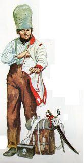 FRANCE - Cacciatore a cavallo della Guardia Imperiale 1808