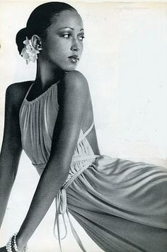 Pat Cleveland one of the first African American Super Models :)