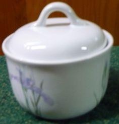Corelle Coordinates  Shadow Iris  Sugar Bowl by pittsburgh4pillows, $10.00