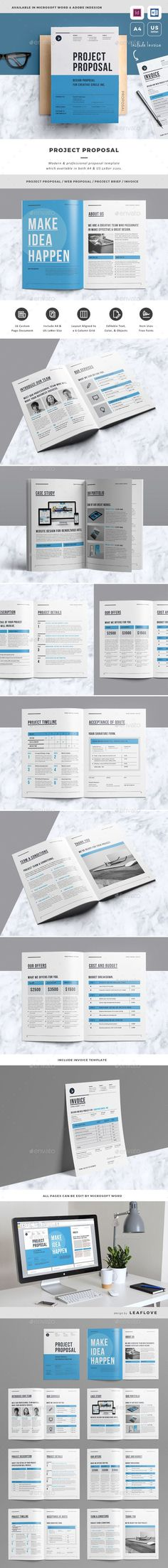 Invoice u2014 Photoshop PSD #a4 u2022 Download ➝ https\/\/graphicrivernet - proposal layouts