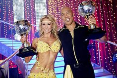 Season 12 winners: Hines Ward & Kym Johnson.  This couple was one of my top four picks.  It was a good season as none of the contestants was from a dancing background; I just hate it when someone comes out on the first show and looks all professional.  Also liked Chelsea, Ralph, and Kirstie.