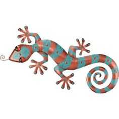 DELETED-Wall Decor Gecko 31in Copper - Regal Art #5192 by Regal Art and Gift. $52.97. Use Of Richly Colored Automobile Paint Creates Quality, Durable Finish.. Special Painting Techniques Creates A 'Patina' Effect.. Extensive Handcrafting Is Put Into Each Piece.. Mix And Match Items In Same Or Different Themes.. This Wall Decor Gecko 31in Copper - Regal Art #5192 is hand-painted metal with stunning three dimensional details and rich colors. Special painting technique...