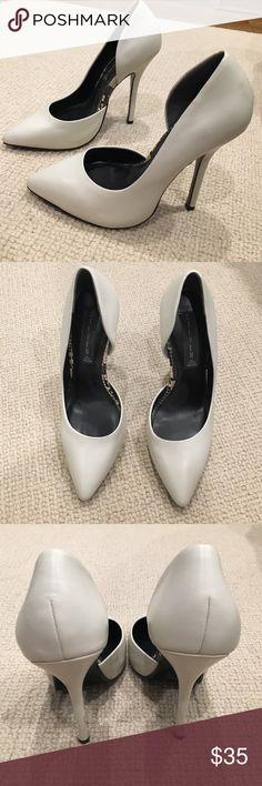 Steven White d'orsay pumps size 6.5 Steven White d'orsay pumps size 6.5 good condition as pictured Steven by Steve Madden Shoes Heels