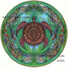 Turtle Mandala- ArtistG.com