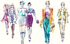 desenho de moda da channel | Conheça um pouco do trabalho de Sabine Pieper :