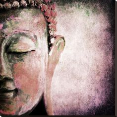 size: Stretched Canvas Print: Pinkish Sgrafitto Buddha : Using advanced technology, we print the image directly onto canvas, stretch it onto support bars, and finish it with hand-painted edges and a protective coating. Buddha Painting, Painting Canvas, Buddha Zen, Zen Art, Painting Edges, Illustrations, Stretched Canvas Prints, Portrait Art, Painting Inspiration