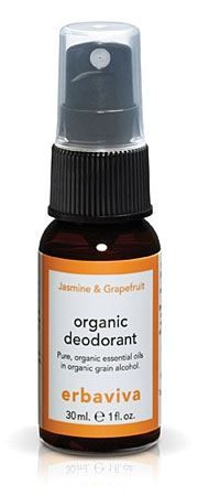 Jasmine Grapefruit Deodorant Travel Size by Erbaviva