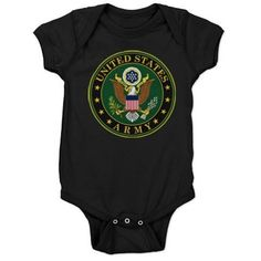 US Army #Baby Bodysuit #UnitedStatesArmy #Army  #SupportourTroops  #ArmyStrong #SupportourMilitary #USA Lots of products  For this design click here --  http://www.cafepress.com/dd/97168084