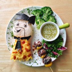food art by lee samantha  http://twistedsifter.com/