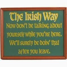 Irish Jokes, Blessings, Proverbs & More....