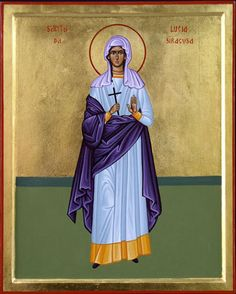 St Lucia [Lucy} of Syracuse - Italy