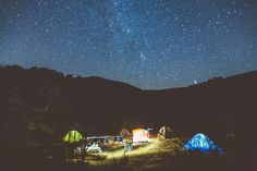 Nighttime #campvibes courtesy of @jeredscott by hipcamp