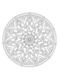 adult coloring pages | ... the Mandala 143, you will find so much more coloring pages for free Mandala Art