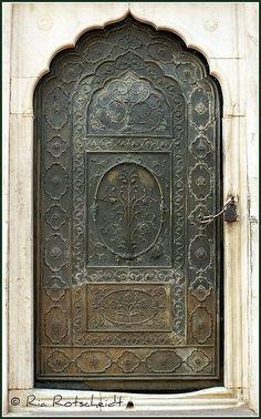 Exquisite door...