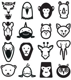 animal pictogram, simple, it's one of my designs, looks like.
