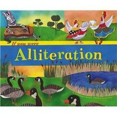 a little alliteration; book suggestions, poetry and writing activity