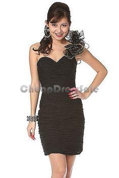#Prom homecoming dress for a modest girl  shoulder dresses #2dayslook #new style #shoulderdresses  www.2dayslook.com