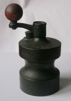 Robert Welch; Cast Iron Pepper Mill for Cole and Mason or Victor, 1960s.
