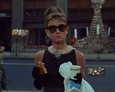 Grab a #coffee and #pastry in #NewYork and re-enact that famous opening scene from #BreakfastAtTiffany's to unleash your inner #AudreyHepburn