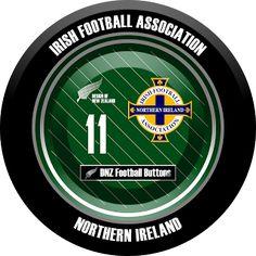 DNZ Football Buttons: Seleção da Irlanda do Norte