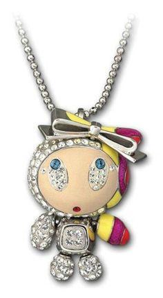 "Swarovski pendant, ""Erika Urban Beat"" +"