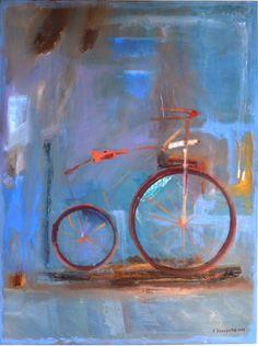 Giannis Zacharakis Όνειρο (Dream ) 2014 90Χ120 cm oil on canvas