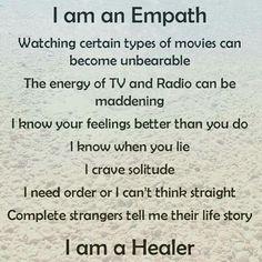 Empath = Healer