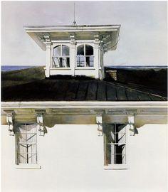 """Andrew Wyeth - """"Widow's Walk"""""""
