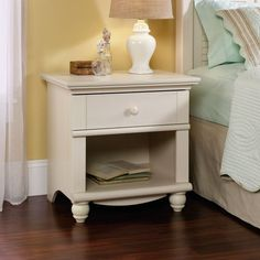 sauder harbor view nightstand liked on polyvore featuring home furniture storage shelves nightstands red harbor furniture home storage furniture amazoncom stein world furniture anna apothecary