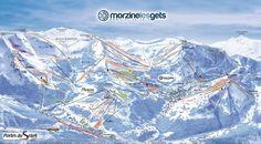 Plan du Domaine Morzine - Les Gets. http://www.morzine-avoriaz.com