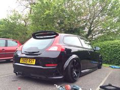 Volvo C30 on Air Lift Performance Air Suspension