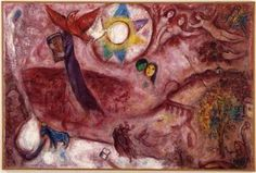 Song of Songs V, 1965 Marc Chagall