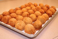 Deep Fried Macroni & Cheese - want to try this sometime.
