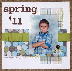 Spring '11 (Connor's school album) - Scrapbook.com
